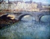 Bridge Over The Seine, Pont De Seine, Paris by Gustave Loiseau