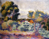 Eucalyptus And Olive Grove by Henri-Edmond Cross