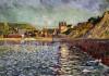 Le Port-En-Bessin (Calvados) by Paul Signac