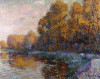 River In Autumn by Gustave Loiseau