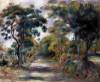 Landscape At Noon by Pierre Auguste Renoir