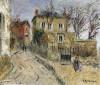 A Village Street by Gustave Loiseau