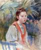 Marthe Givaudan by Berthe Morisot