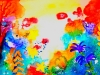 Garden in Summer by Luisa Gaye Ayre