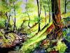 Berkshire Woodland by Luisa Gaye Ayre