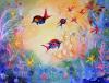 Swimming Free by Luisa Gaye Ayre