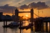 Tower Bridge Sunset by Christopher Holt