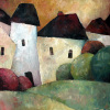 The Old Village by Jeremy Mayes