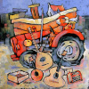 The Massey Ferguson string band by Brian Petrie