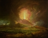 An Eruption of Vesuvius, seen from Portici, c.1774 by Joseph Wright Of Derby