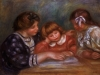 The Lesson, 1906 by Pierre Auguste Renoir