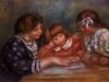 The Lesson, 1906 by Pierre Auguste Renoir