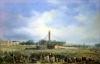 Erecting the Obelisk from Luxor by Francois Dubois