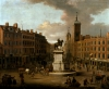 A View of Charing Cross and Northumberland House, 1746 by Joseph Nickolls