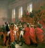 Bonaparte and the Council of Five Hundred, 1799 by Francois Boucher