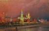 Illumination in the Kremlin, 1896 by Nikolai Nikolaevich Gritsenko