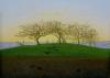 Hills and Ploughed Fields near Dresden by Caspar David Friedrich