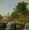 A Watermill in Christiania, c.1834 by Louis Gurlitt