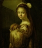 Picture of a Young Girl by Govaert Flinck
