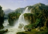 The Waterfall at Tivoli, 1785 by Jacob-Philippe Hackert
