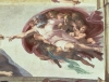 Creation of Adam (Detail - God) by Michelangelo