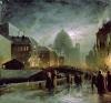 Illuminations in St. Petersburg, 1869 by Fedor Aleksandrovich Vasiliev