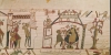 Halley's Comet, detail from the Bayeux Tapestry by English or French School