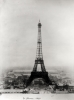 Construction of the Eiffel Tower, 31st March 1889 by English or French School