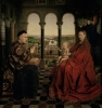 The Rolin Madonna c.1435 by Jan Van Eyck