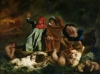 Dante and Virgil in the Underworld 1822 by Eugene Delacroix