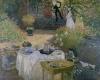 The Luncheon' Monet's garden at Argenteuil c.1873 by Claude Monet