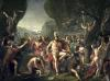 Leonidas at Thermopylae 1814 by Jacques-Louis David