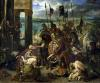 The Crusaders entry into Constantinople 1840 by Ferdinand Victor Eugene Delacroix