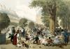 The Tuileries 1856 by Eugene Charles Francois Guerard
