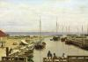 The Port of Dragor 1826 by Christoffer-Wilhelm Eckersberg