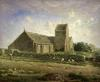 The Church at Greville c.1871 by Jean Francois Millet