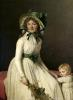 Madame Pierre Seriziat with her Son1795 by Jacques-Louis David