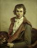 Self Portrait 1794 by Jacques-Louis David