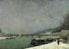 The Seine at the Pont d'Iena 1875 by Paul Gauguin