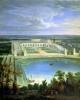 The Orangery and the Chateau at Versailles 1696 by Jean-Baptiste Martin