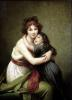 Madame Vigee-Lebrun and her Daughter 1789 by Marie Elisabeth Louise Vigee-Lebrun