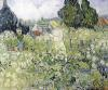 Mademoiselle Gachet in her garden at Auvers-sur-Oise 1890 by Vincent Van Gogh