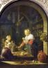 The Village Grocer 1647 by Gerrit Dou