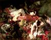 The Death of Sardanapalus 1827 by Eugene Delacroix