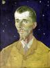 Portrait of Eugene Boch 1888 by Vincent Van Gogh