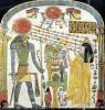 Stele of the Lady Taperet before Re-Horakhty by Egyptian Art