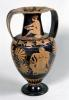 Attic red-figure amphora depicting a maenad and a satyr by Greece