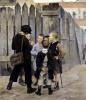 The Meeting 1884 by Maria Konstantinova Bashkirtseva