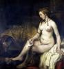 Bathsheba Bathing 1654 by Rembrandt