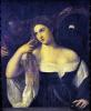 Portrait of a Woman at her Toilet 1512 by Titian